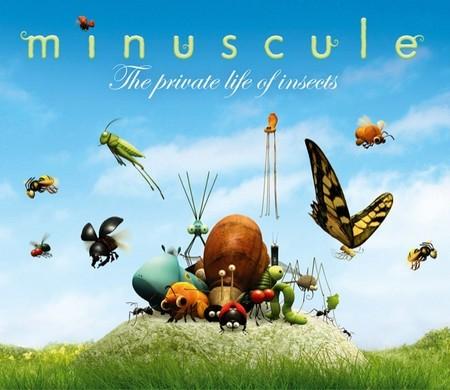 Minuscule son cortometrajes de animación para niños y al final del 2013 lanzarán un largometraje