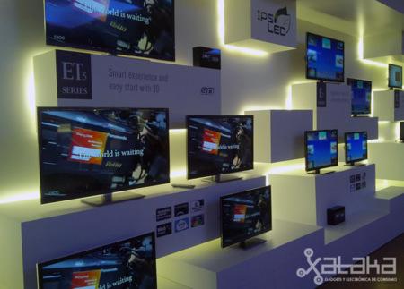 Así son los nuevos televisores Panasonic para 2012