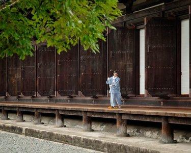 El templo Sanjūsangen-dō de Kyoto