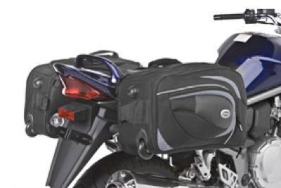 Alforjas-Trolley: una buena idea para ir en moto al aeropuerto