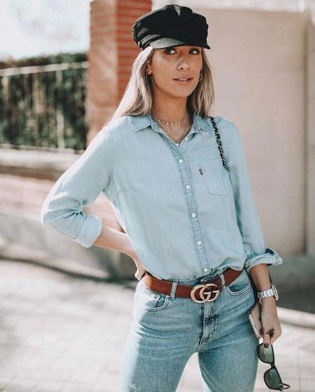 María Pombo tiene claro que el total denim pisa fuerte: te ayudamos a conseguir su look