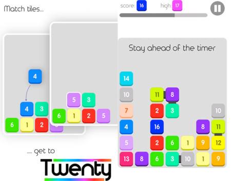 Twenty, el nuevo juego de lógica para los que se engancharon a Threes!
