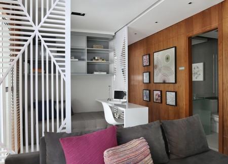 Paneles espectaculares para dividir estancias en las que fluye la luz natural
