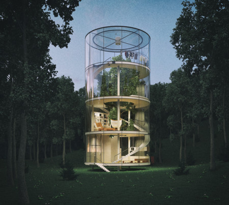 Tubular Glass House 7
