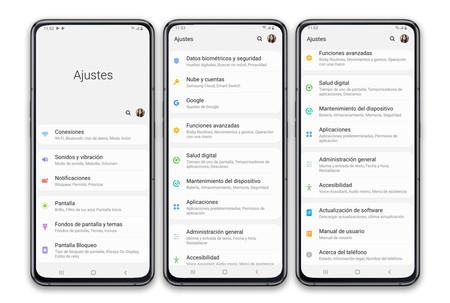 Samsung Galaxy A80 Ajustes
