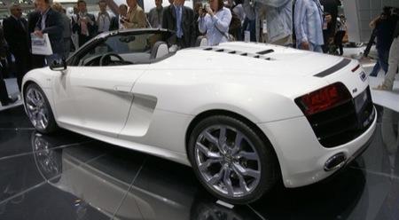 Audi R8 Spyder Francfort