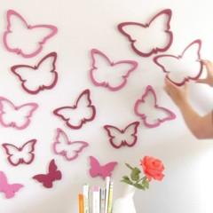 Foto 5 de 5 de la galería una-buena-idea-decorar-la-pared-con-mariposas en Decoesfera