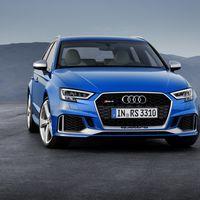 El Audi RS3 Sportback estrena facelift y los 400 hp del sedán