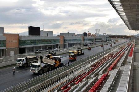 La decisión sobre la disputa del Gran Premio de Corea se anunciará el miércoles