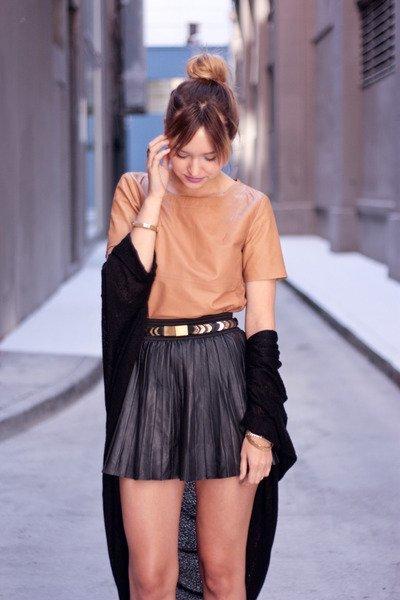 La compra sexy de la temporada: las faldas de cuero