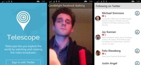 Ya se puede usar Periscope en Windows Phone gracias a esta app alternativa