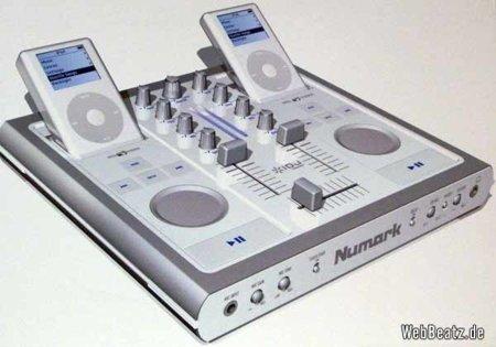 DJ mixer para el iPod