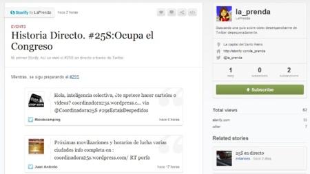 Storify, el mejor para temas de actualidad