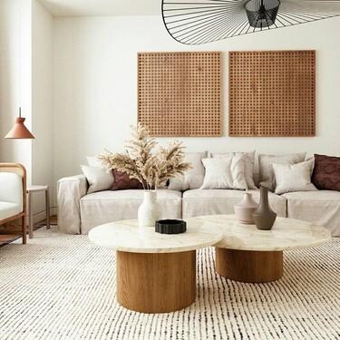 La semana decorativa: pavimentos y revestimientos, inspiración para ambientar salones y zonas de estar