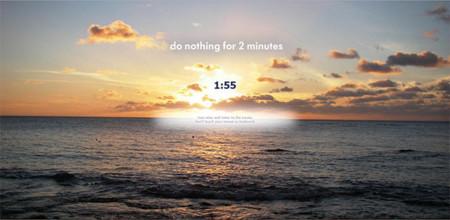 Dos minutos de relajación