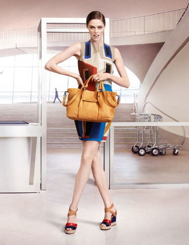 Coco Rocha repite como imagen de Longchamp campaña Primavera-Verano 2013