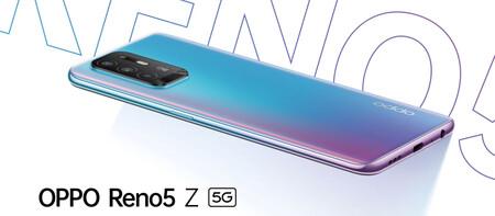 OPPO Reno5 Z 5G: una brisa de aire fresco en delgadez y ligereza en la gama media 5G