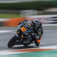 Luca Marini consigue la segunda pole de su vida en el GP de Valencia