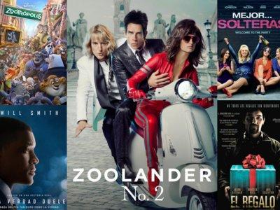 Estrenos de cine   12 de febrero   Zoolander, Zootrópolis, Will Smith y una 'party'