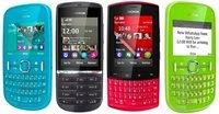 Presentamos a los nuevos integrantes a la familia Nokia: Nokia Asha 200, 201, 300 y 303