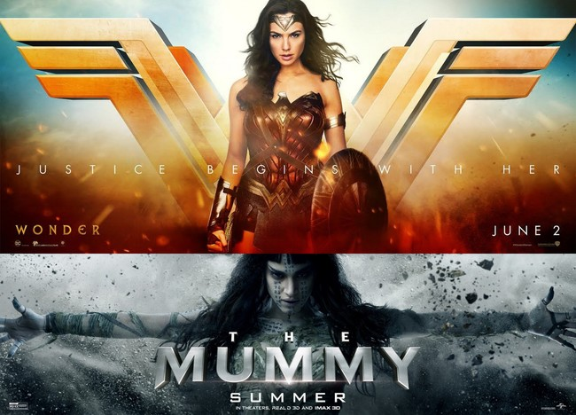 Wonder Woman vs. la Momia