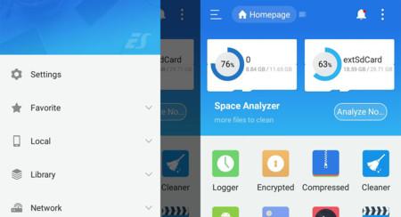 ES File Explorer renueva su interfaz tras el fiasco del Charging Boost