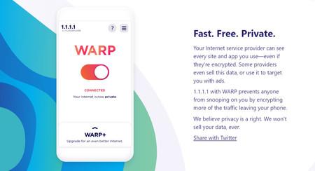Cómo usar Warp, la VPN gratuita de Cloudflare (y para qué sirve)