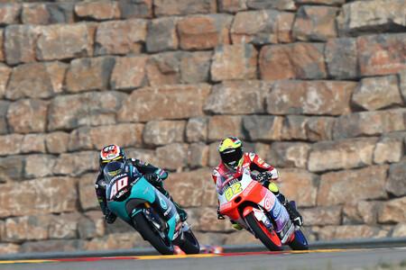 Darryn Binder hace la pole position de Moto3 en Aragón y Sergio García saldrá por delante de Pedro Acosta