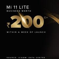 El Mi 11 Lite arrasa en India: 200 millones de rupias en beneficios solo en la primera semana de lanzamiento
