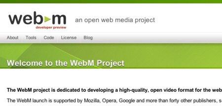 Google anuncia el formato de vídeo abierto WebM. ¿Es oro todo lo que reluce?