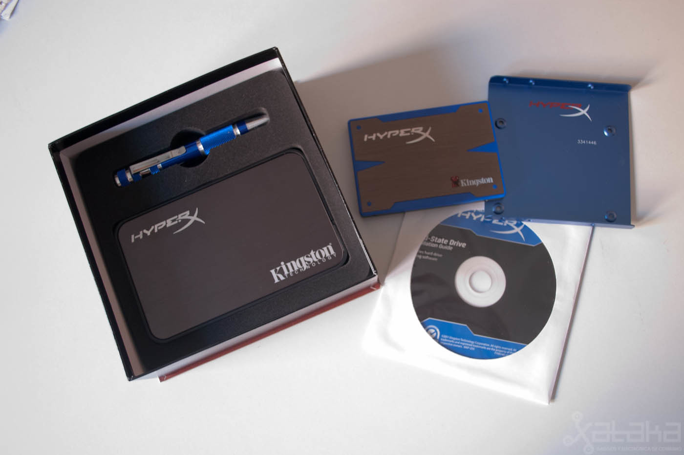 iKngston HyperX SSD, análisis