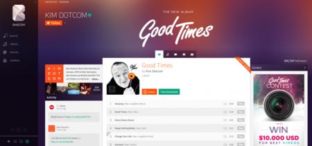 """Kim Dotcom nos muestra una """"demo"""" de Baboom, su nuevo servicio de música"""