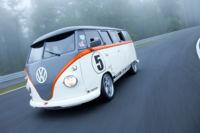 Combi de VW con motor y otras partes Porsche