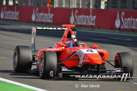 Mitch Evans y Patric Niederhauser obtienen sendas victorias en la ronda de la GP3 en Valencia