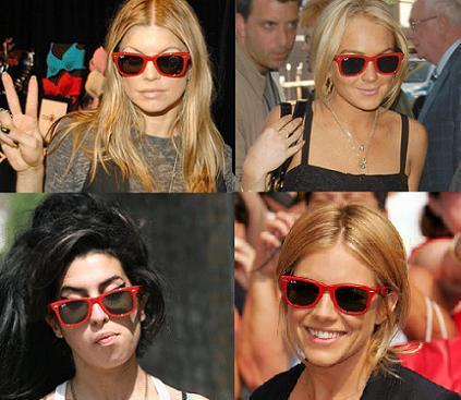 ¿Cómo es que todavía no te has comprado unas gafas de sol rojas?