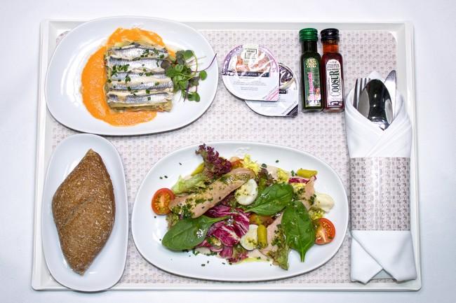 La cocina creativa de Martín Berasategui se sube al avión