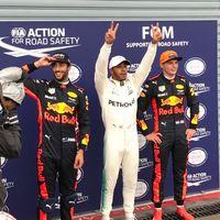 Hamilton se convierte en el piloto con más poles de la historia en una eterna y lluviosa clasificación del GP de Italia
