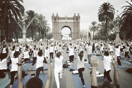 Oysho yoga Dafne Fernandez