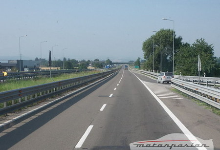 Autopista italiana