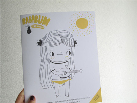 Bababum: el cuaderno de vacaciones para que los niños se entretengan y escuchen música