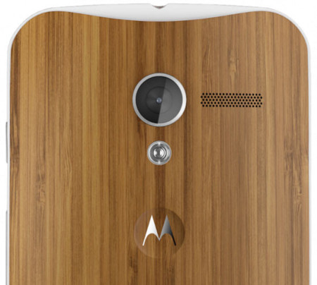 Moto X Wood Cover