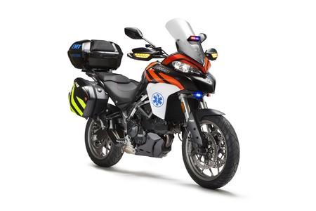 La Ducati Multistrada 950 se estrenará en competición salvando vidas en Pikes Peak