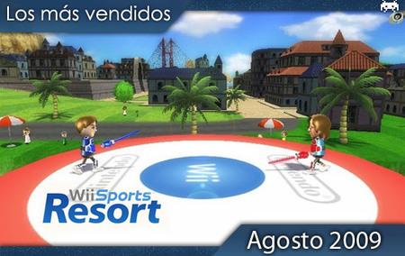 Los juegos más vendidos en España. Agosto 2009