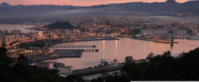 Ceuta Desde El Monte Hacho 2008