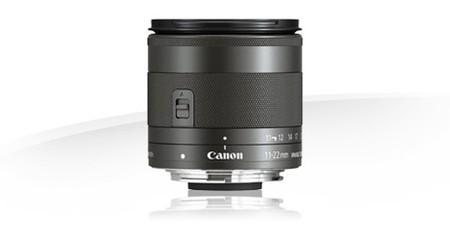 Canon EF-M 11-22 mm f/4-5,6 IS STM, el nuevo objetivo de Canon para montura EF-M