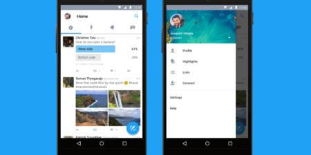 Así es el nuevo Twitter para Android, descarga ya su nueva versión con interfaz Material Design