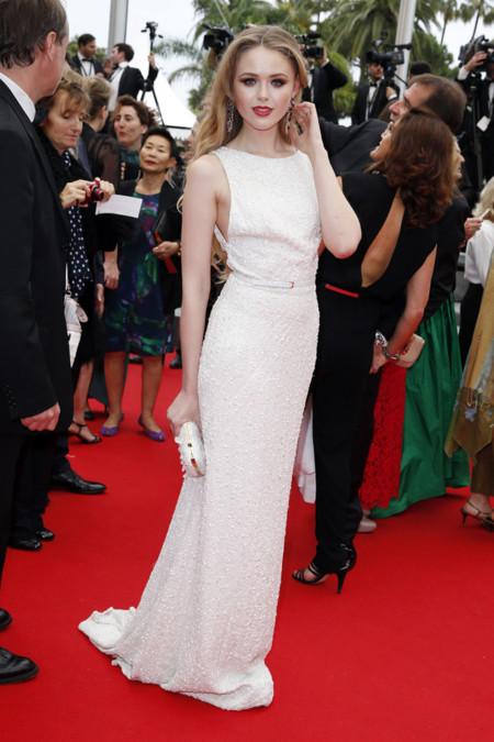 Kristina Bazan Festival de Cannes look vestido