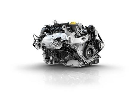 Motor de Renault girado 49º