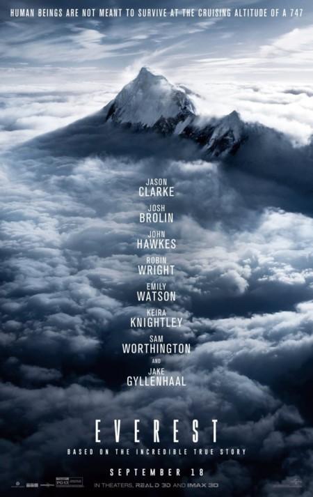 Teaser póster de Everest