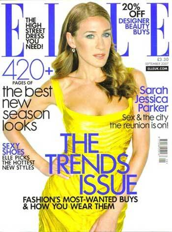 Sarah Jessica Parker en Elle